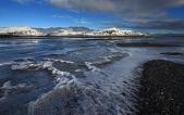 En los alrededores del río Hornafjarðar Fljót.